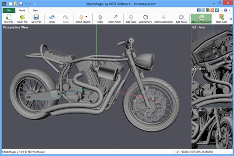 online 3d drawing tool meshmagic 3d is a simple stl viewer and editor