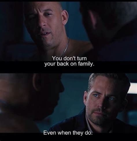 fast and furious quotes dom paul walker sad quotes quotesgram