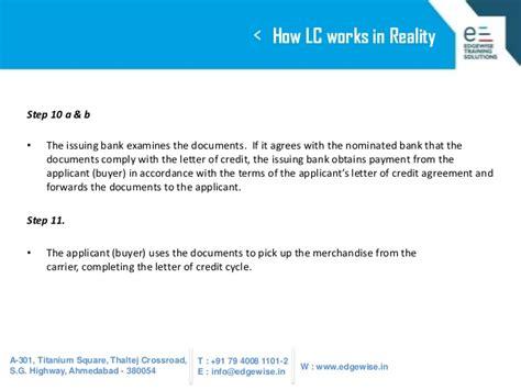 Letter Of Credit Ppt letter of credit lc presentation
