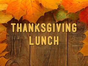 november thanksgiving community thanksgiving luncheon