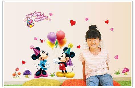 mickey and minnie mouse home decor new arrive 1pcs lot cartoon 3d kids mickey and minnie