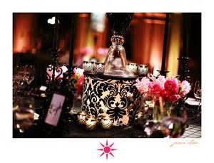 damask centerpiece ideas nannette s floral damask eiffel tower print