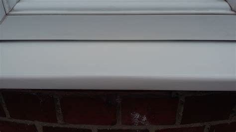 Upvc Window Sill Vandalised Upvc Plastic Window Frame Repair Namco Refurbs