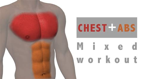 ćwiczenia mieszane mięśnie klatki piersiowej i brzucha