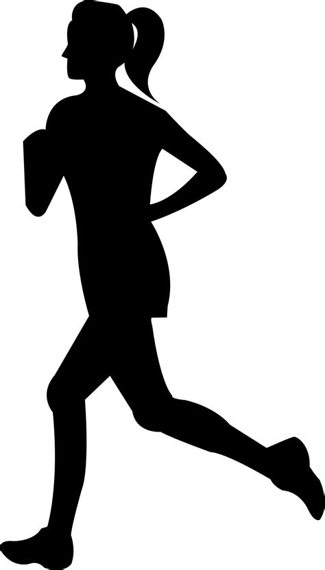 Chair Silhouette Free Jogger Silhouette Cliparts Download Free Clip Art