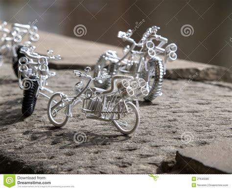 Handcrafted Bikes - handmade bike stock photo image 27645580
