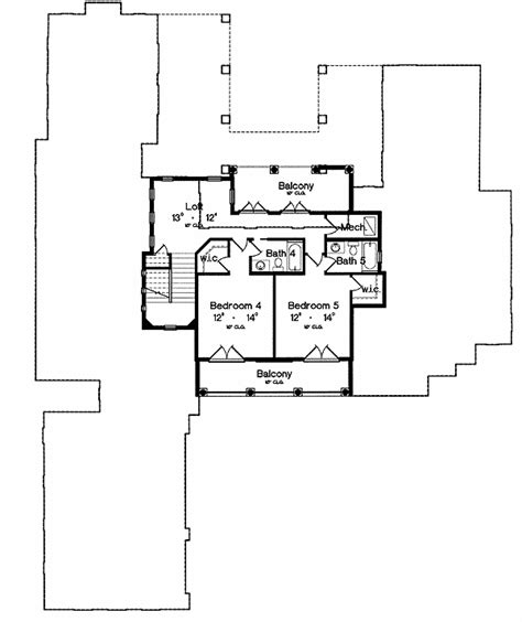 2nd floor balcony plans double balconies make a statement 4241mj architectural