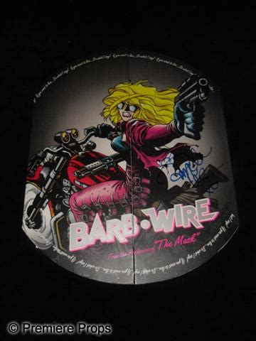 barb wire promo of barb wire 1996 autographed promo