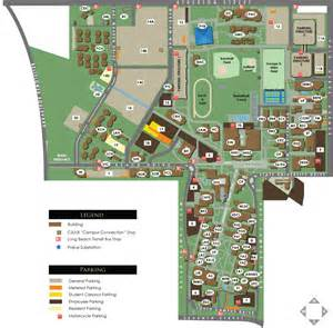 Cal State Long Beach Campus Map by Campus Map And Parking Information