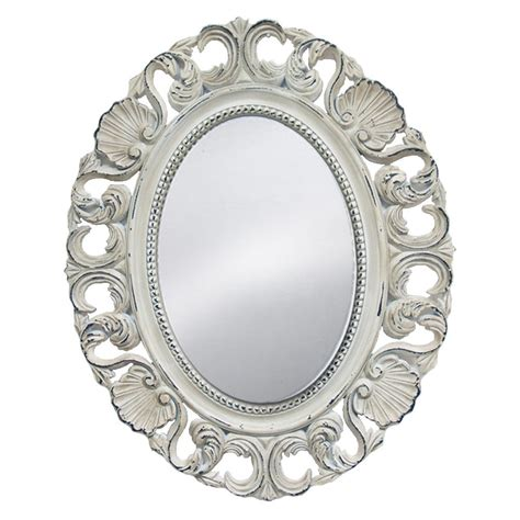 Miroir Rond 373 by Miroir Rond Baroque Coquilles Www Papaye Citron