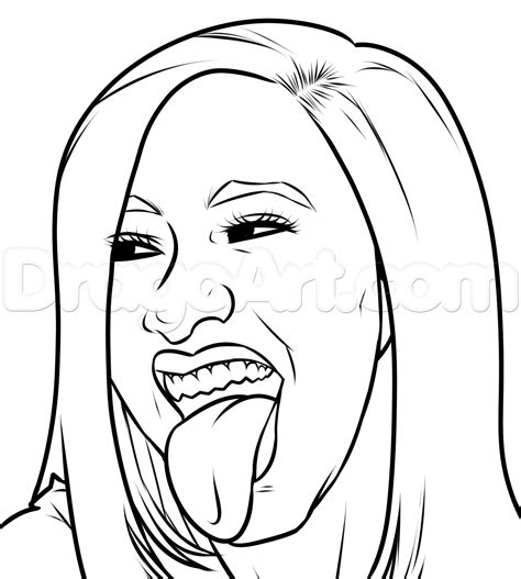 Cardi B Coloring Pages cardi b coloring pages coloring pages