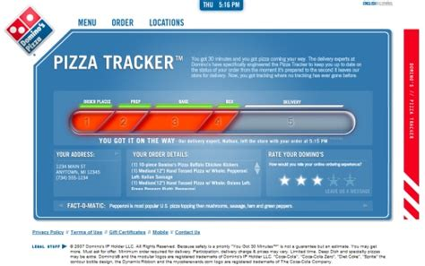 domino pizza tracker page 3 of articles tagged with food slipperybrick com