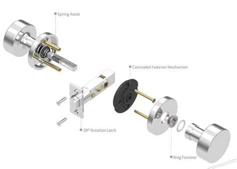 emtek standard and cf mechanism