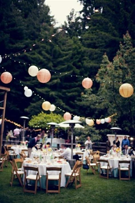 outside party 40 garden ideas for your summer party decoration