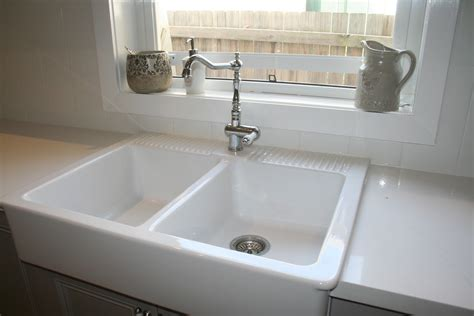 kitchen ceramic sinks lilyfield life our french kitchen renovations and reveal