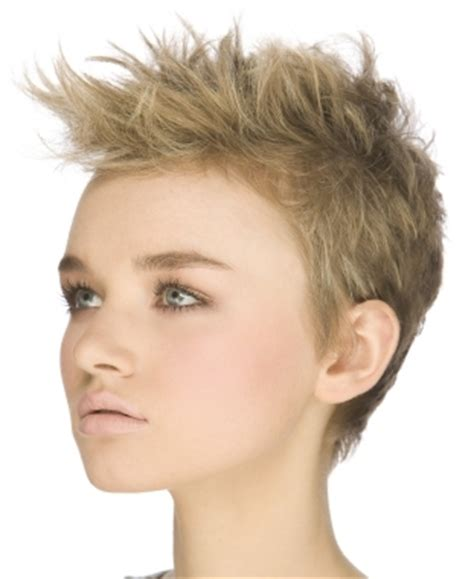 how to spike a short cut hair styles for square face shape