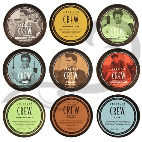 Fiber Pomade american crew s hair styling products all types