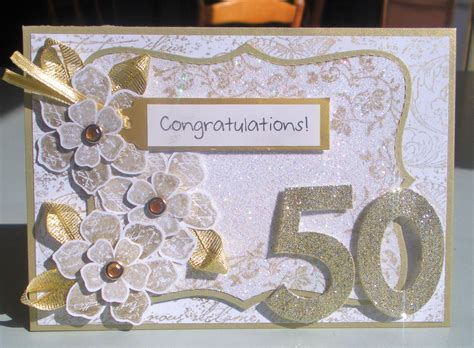 s 50th anniversary card enchantink