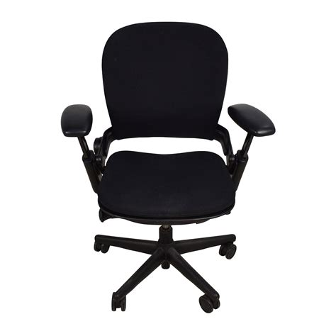 71 off adjustable black office desk chair chairs