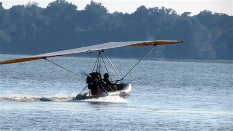 inflatable boat ultralight aircraft ultralight and inflatable dinghy youtube