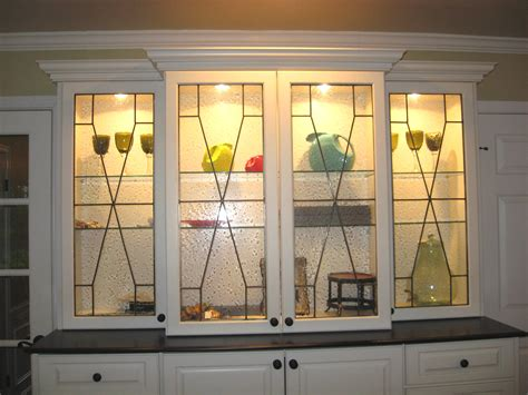 leaded glass kitchen cabinets leaded glass mclean stained glass studios