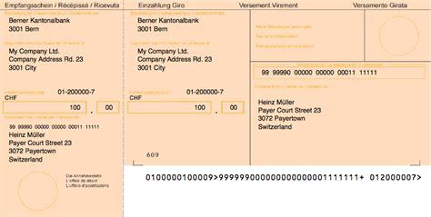 Rechnung Schweiz Verbuchen Class Einzahlungsschein Php Besr Esr Einzahlungsscheine Mit Php Sprain S