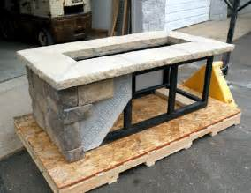 Fire Pit Bowl Home Depot - custom rectangle fire pit kit