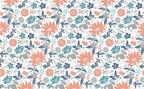 Repeat Trend Florals 2 by Floral Repeat Vector Archives Illustrations Jitesh Patel