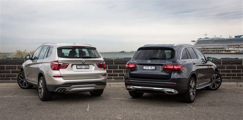 size difference between bmw x3 and x5 mercedes glc v bmw x3 comparison review