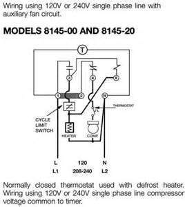 defrost clock wiring diagram