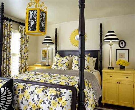 Yellow Black Bedroom by Black And Yellow Bedroom Decor Ideasdecor Ideas