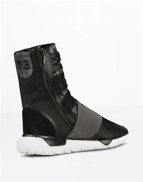 Sepatu Adidas Y 3 Qasa high top sneakers y 3 qasa boot for official