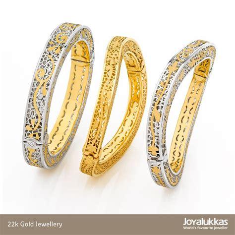 22k gold open type artform bangles. Made in Italy.   Joyalukkas Jewellery Collection   Pinterest