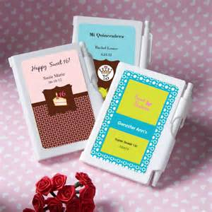 Sweet 16 Personalized Favors by Notebook Personalized Sweet 16 Favors Or Fifteen