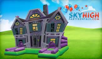 haunted houses for rent or sale delivered sky high party rentals