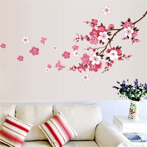 wall stickers wholesale wholesale beautiful wall stickers living bedroom decorations 739 diy flowers pvc home