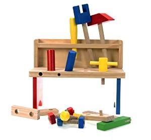 work bench toys amazon com wooden toys wooden work bench small toys