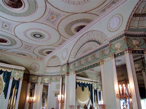 adam style house a neoclassical ceiling by robert 1728 1792 for the