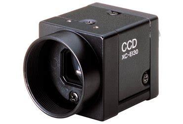 sony xc es30 1/3type b/w analog camera eia sony industrial