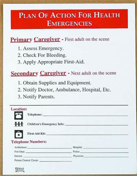 diving emergency plan template plan of for for emergencies