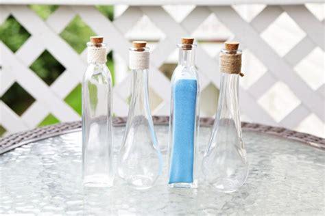 custom pouring glass vase for wedding unity sand