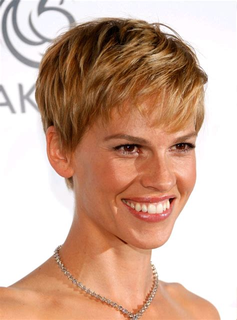 short hairstyles for women over 50 for brown hair and highlights short hair styles for women over 50 celebrity pixies
