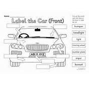 Label The Car Set SB4299  SparkleBox