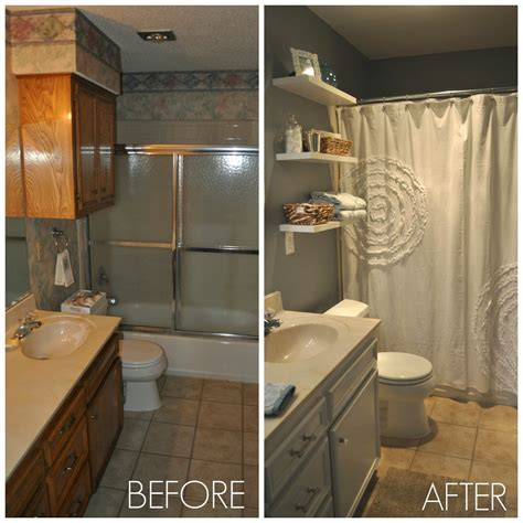 Before And After Shower by Before And After Guest Bathroom Coulter