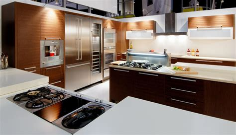 gaggenau cooktop Kitchen Contemporary with appliances