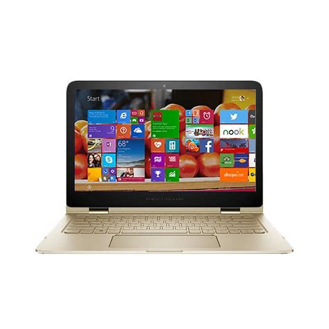 blibli hp spectre jual hp spectre x360 4125tu gold notebook 8 gb ram intel