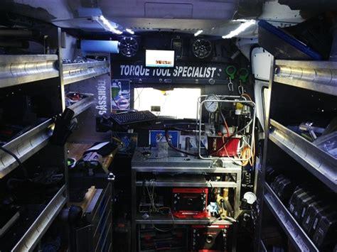 van work bench extreme van upfit helps tool business go mobile article business fleet
