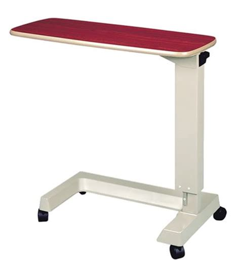 invacare epoxy painted base overbed table overbed tables