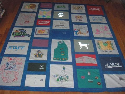 a quilt out of t shirts how to make a shirt