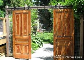 Using Old Doors In Landscaping How To Make Barn Door Style Blackout Shutters 03jpg Apps